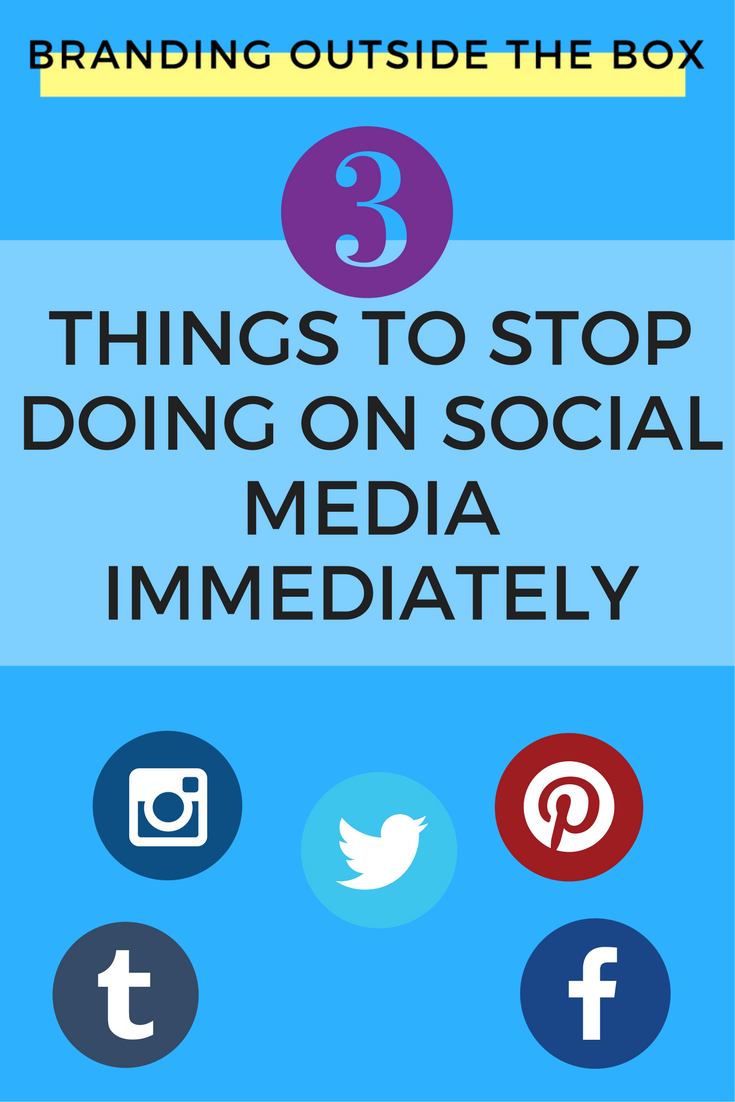 3 Things to Stop Doing