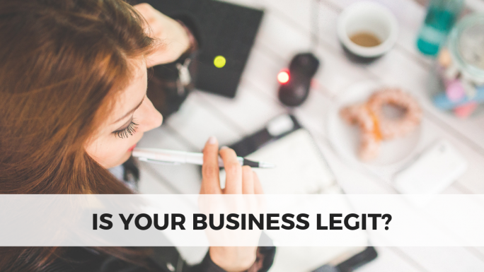 Is your business legit?