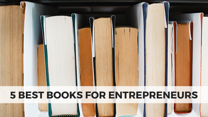 5 Best Books for Entrepreneurs