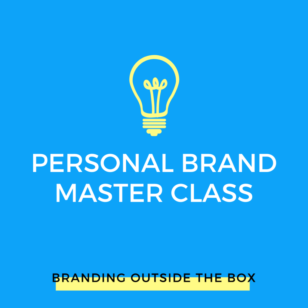 personal brand master class
