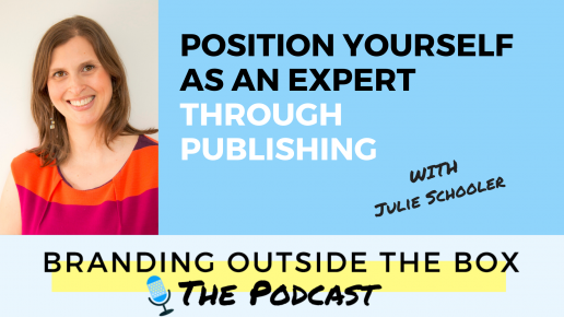 become an expert through publishing with Julie Schooler